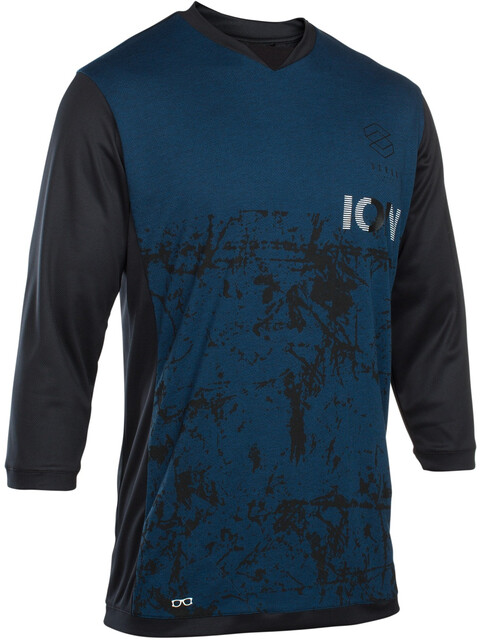 ION Scrub AMP Tee LS 3/4 Men ocean blue
